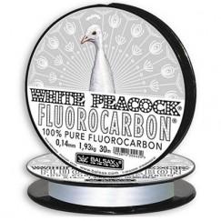 Леска монофильная Balsax White Peacock Fluorocarbon 100м